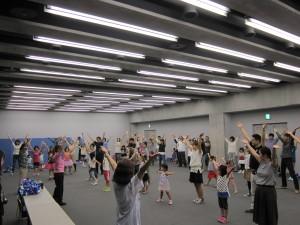 チアダンス練習