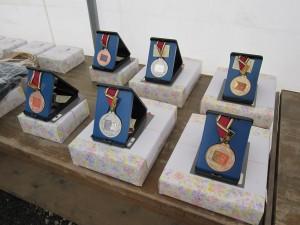 優勝~3位まではメダルも贈呈されます!