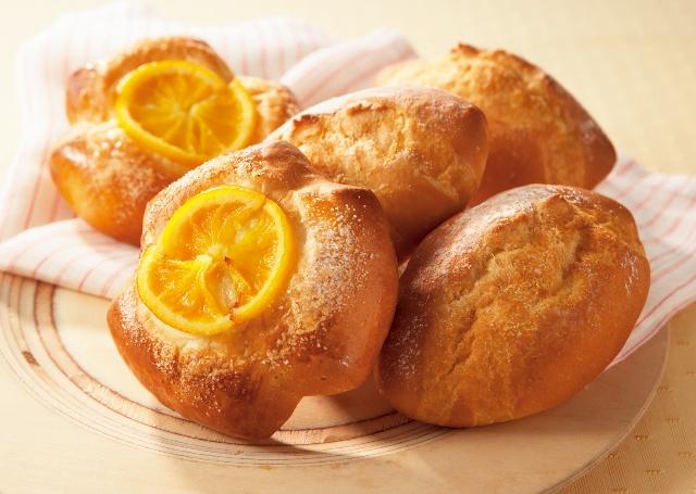 バタークッペ&オレンジパン